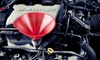 McGee Tire - Multiple Locations: Oil Changes and Four-Wheel Alignment at McGee Auto Service & Tires (Up to 58% Off). Five Options Available.