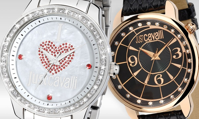 Just Cavalli Men's and Women's Watches: Just Cavalli Men's and Women's Watches. Multiple Styles Available. Free Returns.