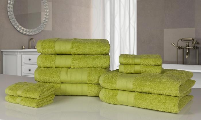 10 asciugamani da bagno groupon - Asciugamani da bagno ...