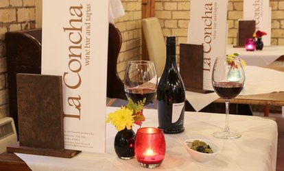 image for Lunch of Spanish Tapas for Two or Four at La Concha (Up to 48% Off)