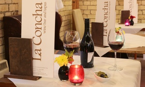 La Concha: Lunch of Spanish Tapas for Two or Four at La Concha (Up to 48% Off)