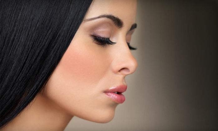 Adora Bella Salon - Danville: Eyelash Perm or Natural-Looking Premium Silk Eyelash Extensions at Adora Bella Salon (Up to 54% Off)
