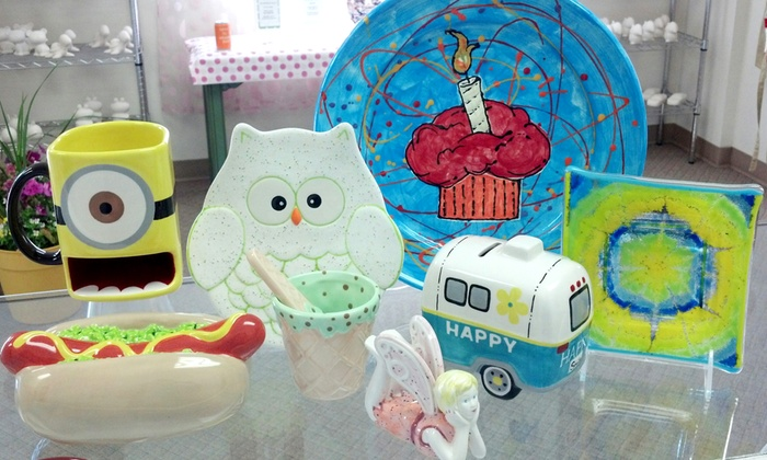 The Pottery Bug - Sandpoint: Kids' Summer Art Classes or Birthday Party for Eight Kids at The Pottery Bug (Up to 40% Off)