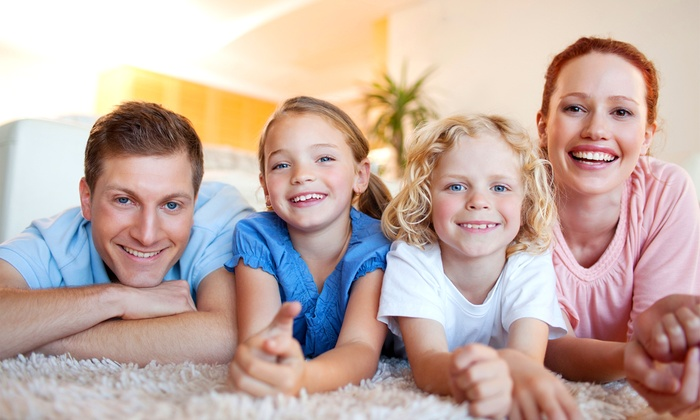 The Burns Clean Team & Spotless Floorcare - Knoxville: $79 for Advanced Green Clean Carpet Cleaning for Three Rooms from Spotless Floorcare ($242 Value)