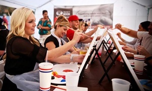 Project Boon: One or Two Adult Admissions to Two-Hour Charity Paint & Craft Beer Night Event at Project Boon (51% Off)