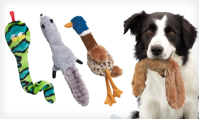 Skinneeez Plus Pet Toys: $7 for a Skinneeez Plus Pet Toy ($10.99 List Price). Six Options Available. Free Shipping.