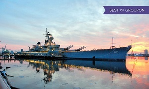 Battleship New Jersey: Battleship New Jersey Visit for Two or Four (49% Off)