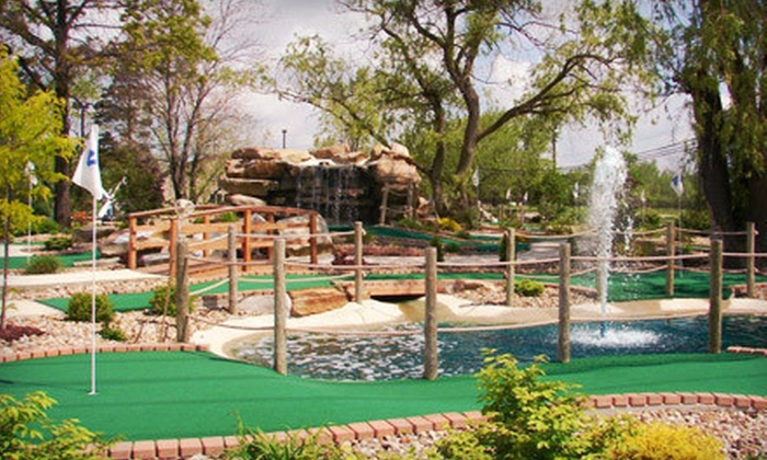 Chip's Clubhouse - Chardon: Round of Mini Golf for 4 or 6 or Mini-Golf Party for 10 at Chip's Clubhouse (Up to 54% Off)