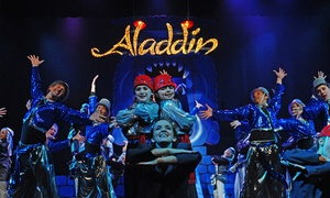 """Disney's Aladdin Jr."": Disney's Aladdin Jr. on Saturday, February 20, at 10:30 a.m., 2:30 p.m., or 7:30 p.m."
