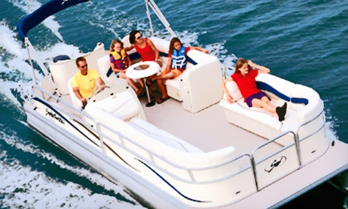 Eagle Mountain Boat Rental - Lake Country: $75 for a Two-Hour Pontoon-Boat Rental for Up to 12 from Eagle Mountain Boat Rental (Up to $150 Value)