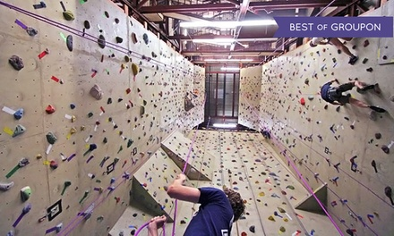 $40 for One Introductory Climbing Lesson and a 1-Month Pass at The Crux Climbing & Bouldering ($111.43 Value)