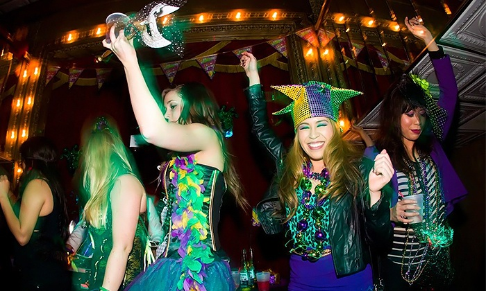 Queenvee Entertainment - Long Beach Harbor: Mardi Gras Party Cruise on Saturday, February 6 for Two or Four from QueenVee Entertainment (Up to 50% Off)