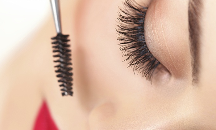 Lashes 2 Lashes - Multiple Locations: Just a Touch Synthetic or Silk Eyelash Extensions at Lashes 2 Lashes (Up to 51% Off)