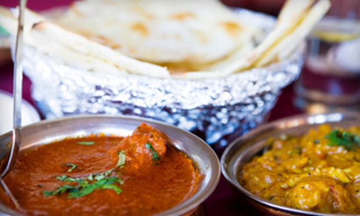 Curry Club Indian Bistro - Downtown: $10 for $20 Worth of Indian Dinner Fare at Curry Club Indian Bistro in Sacramento