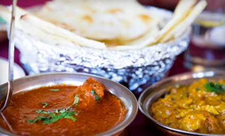 $10 for $20 Worth of Indian Dinner Fare at Bombay Bistro in Roseville