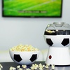 Soccer-Ball Popcorn Maker with Built-in Bowl