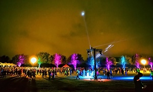 The Lantern Run: Nighttime 5K for One or Two or Half Marathon with Chip for One from The Lantern Run (Up to 50% Off)