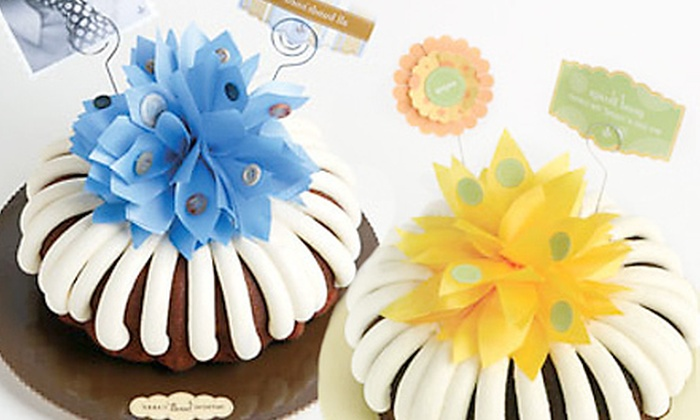 Nothing Bundt Cakes - San Carlos: Custom-Designed 10-Inch Cake or $10 for $20 Worth of Bundt Cakes at Nothing Bundt Cakes in San Carlos