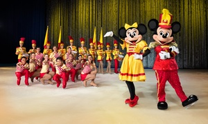 """Disney On Ice celebrates 100 Years of Magic"" Presented by Stonyfield YoKids Organic Yogurt: <i>Disney On Ice celebrates 100 Years of Magic</i> Presented by Stonyfield YoKids Organic Yogurt (Up to 27% Off)"