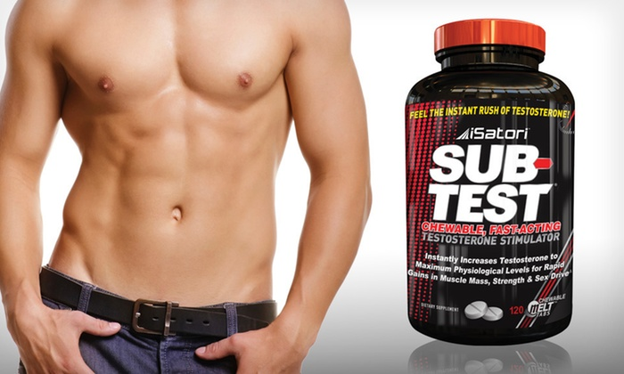 iSatori Testosterone-Stimulator Tablets: $24.99 for 120 iSatori Sub-Test Chewable Testosterone-Stimulator Tablets ($71.99 List Price). Free Shipping.