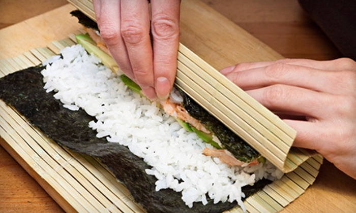 Cooking Skills Academy - Design First Studio: Two-Hour BYOB Sushi Maki'n Class with Dinner for One, Two, or Four at Cooking Skills Academy (Up to 64% Off)