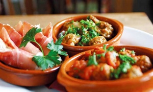 La Boca: Five or Ten Spanish Tapas plus Bread and Olives at La Boca (Up to 63% Off)