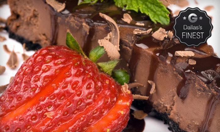 Cheesecake Amor Cafe & Wine Bar - Craig Ranch: Three-Course Dinner for Two or Four at Cheesecake Amor Cafe & Wine Bar (Up to 57% Off)