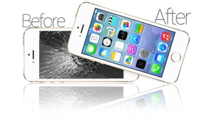 Guerra's Enterprises INC: Glass-Only Screen Repair for an iPhone or iPad at Guerra's Enterprises INC(Up to 65% Off) Five Options Available.