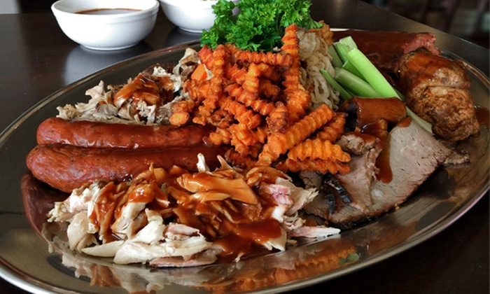 The Last Pit Stop Barbecue - Ravenswood: Barbecue for Two, Four, or Six or More at The Last Pit Stop Barbecue (Up to 50% Off)