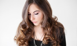 Elite Beauty Studio: Choice of Hair Treatment With Optional Massage and Face Threading at Elite Beauty Studio (Up to 74% Off)