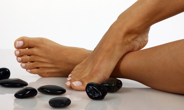 Lovely Nails - Dupont Circle: $40 for Basalt Stone Spa Pedicure at Lovely Nails ($80 Value)
