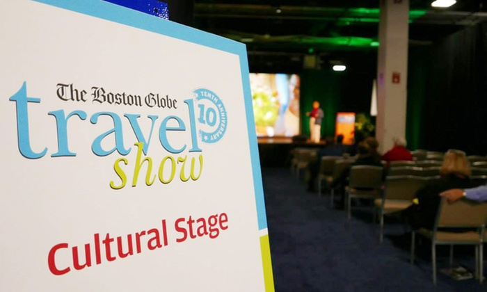 "The ""Boston Globe"" Travel Show Admission for Two or Four (Up to 46% Off)"