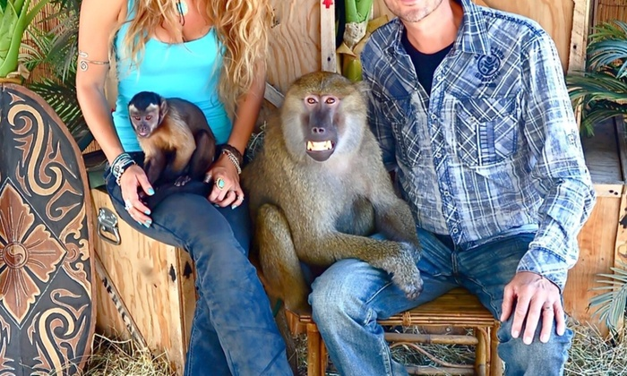 "Monkey Business Productions - San Francisco: $796 for for ""Wild About Monkeys"" Show ($995 Value) — Monkey Business Productions"