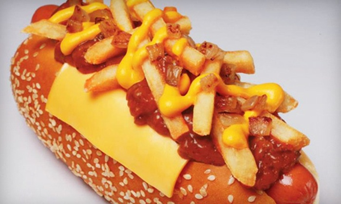Wienerschnitzel - Arcadia: Combo Meals for Two or Four or a Kids' Party Package at Wienerschnitzel in Arcadia (Up to 60% Off)