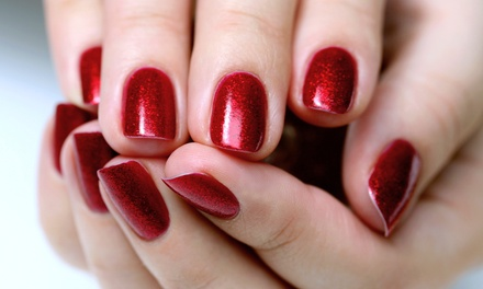 Signature Mani-Pedi or Pedi with Shellac Mani for One at Applause Salon (Up to 44% Off)