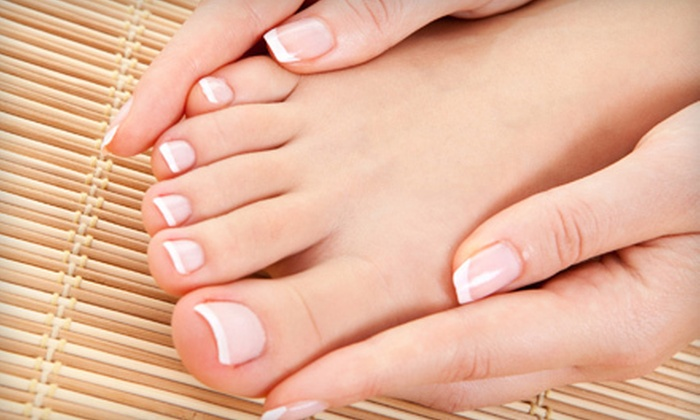 North Lakeland Foot Clinic at Dejavu Salon - Jacksonville: Laser Nail-Fungus Removal for 5 or 10 Toes at North Lakeland Foot Clinic at Dejavu Salon (Up to 75% Off)