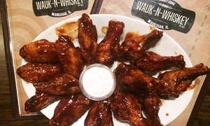 Wauk-n-Whiskey: $12 for $20 Worth of Inventive Bar Food and Drinks at Wauk-n-Whiskey