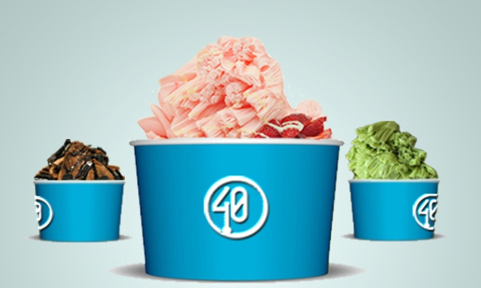 40 Below - 40 Below: Frozen Treats at 40 Below (Up to 36% Off).
