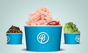 Frozen Treats at 40 Below (Up to 36% Off).