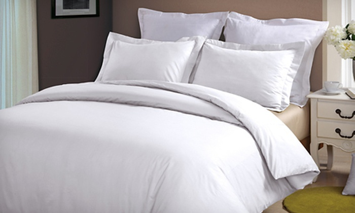 100% Cotton Duvet Cover Set: $29 For A 100% Cotton Duvet  ...