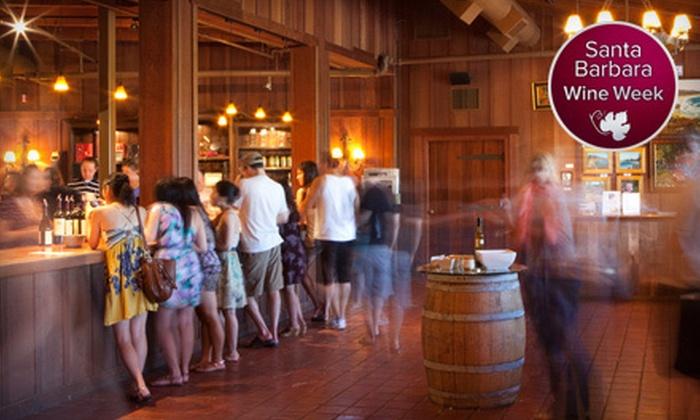 Firestone Vineyard - Solvang-Santa Ynez: $25 for a Reserve Tour and Wine Tasting for Two at Firestone Vineyard ($50 Value)