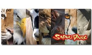 SAFARI PARK: Natura e divertimento per la famiglia - uno, 3 o 5 ingressi al Safari Park (sconto 65%)
