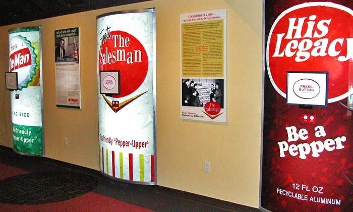 Dr Pepper Museum - Brazos: Visits for Two, Four, or Six to Dr Pepper Museum (50% Off)