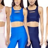 Women's Electric Yoga Slash Cross-Back Laser Cut Sports Bra (2-Pack)