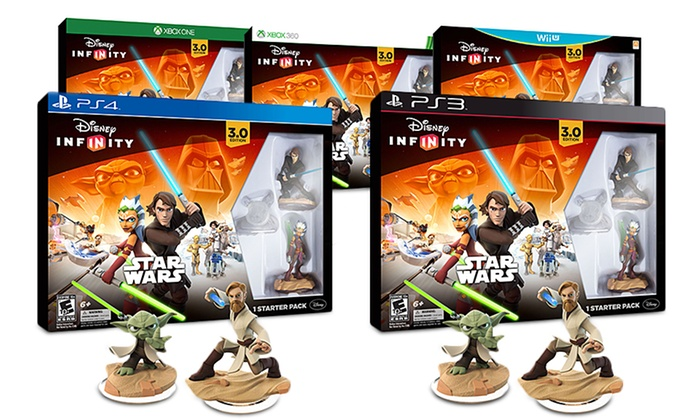 infinity 3 0. Disney Infinity 3.0 Star Wars Starter Pack And 2 Additional Figures: 3 0