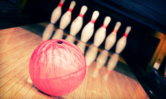 Strike & Spare Family Entertainment - Multiple Locations: $6 for Two Games and Shoe Rental at Strike & Spare Family Entertainment (Up to $12.20 Value)