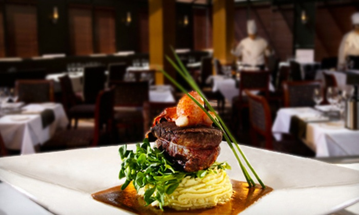 Carver's Steakhouse - Executive Airport Plaza Hotel: $27 for Prix Fixe Steakhouse Dinner with Appetizer, Entree, and Dessert at Carver's Steakhouse in Richmond ($55 Value)