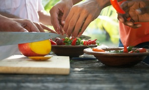 """White Jasmine: """"White Jasmine Everyday Cooking"""" Taping with a Cookbook for 1 or 2 from White Jasmine (Up to 51% Off)"""