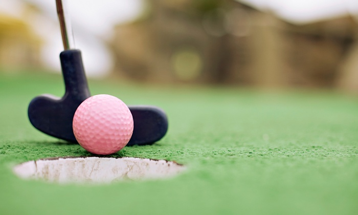 Mission Beach Attractions - Mission Beach: One Round of Mini Golf for Two or Four at Belmont Park (Half Off)