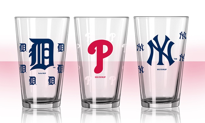 2-Pack of MLB Color-Changing 16oz Pint Glass: 2-Pack of MLB Color-Changing 16oz Pint Glass. Multiple Teams Available. Free Returns.
